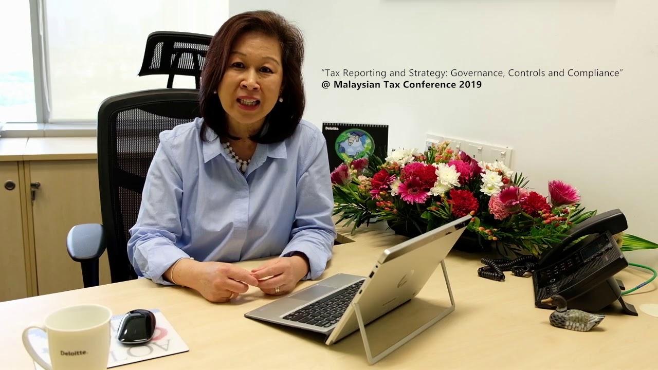 Theresa Goh, Tax Partner, Deloitte Malaysia - panellist @ Malaysian Tax Conference 2019